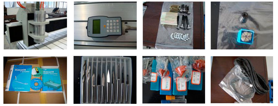 оборудване на ЕМ-4060 CNC гравир